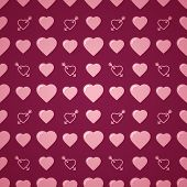 picture of avow  - Lovely heart romantic pink pattern - JPG