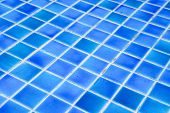picture of grout  - Wall and floor mosaic tiles texture background or swimming pool tiles on wall - JPG