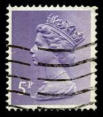 Постер, плакат: Почтовая марка