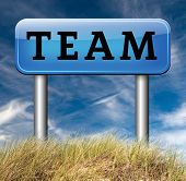 pic of team  - Team or work or business our team banner about us sign 