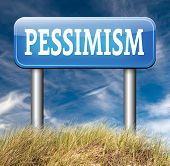 pic of mood  - pessimism negative pessimistic thinking bad mood pessimist - JPG
