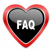 stock photo of faq  - faq icon  - JPG