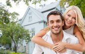 stock photo of nice house  - love - JPG