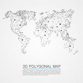 picture of polygon  - Map 3d polygon art map - JPG