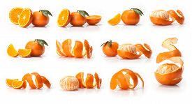 stock photo of mandarin orange  - Orange - JPG