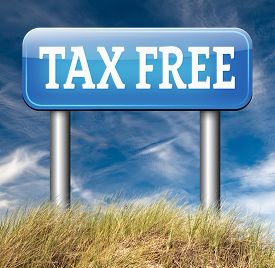 foto of debt free  - tax free zone or not paying taxes low price shop having good credit financial success paying debts for financial freedom taxfree  - JPG