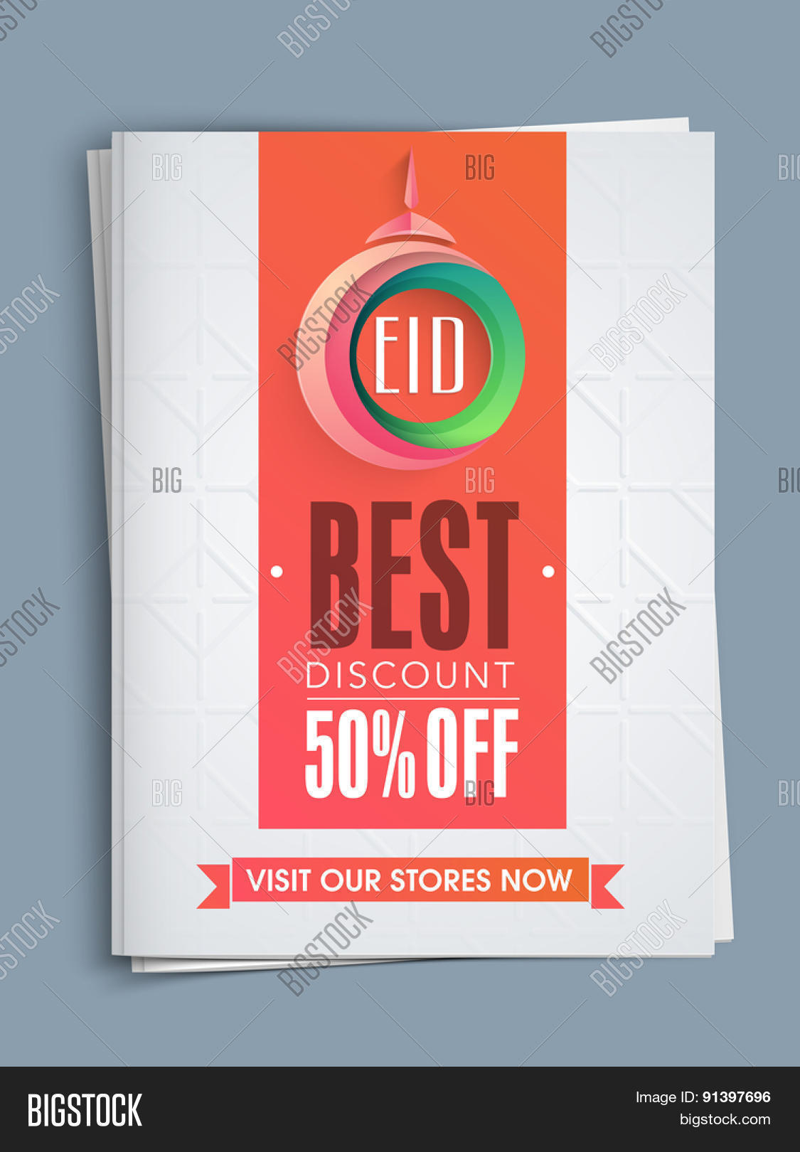 creative template or flyer presentation best discount creative template or flyer presentation best discount offer for muslim community festival eid