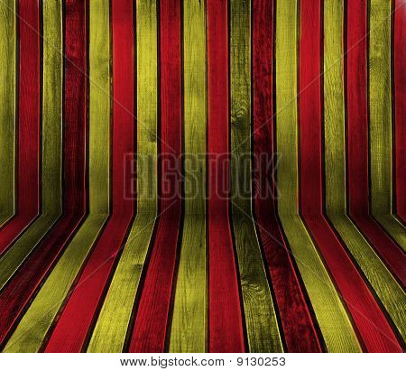 Striped Wooden Background