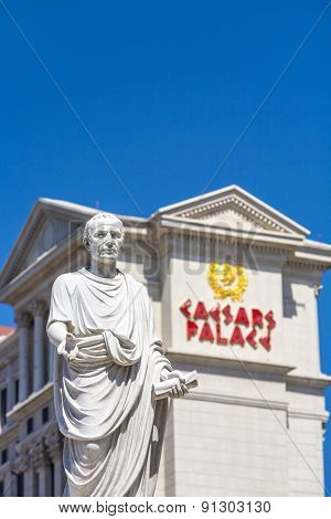 Caesar's Palace on the Vegas Strip in Las Vegas