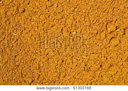 Curry Powder Background
