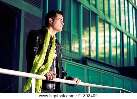 Young fashion man portrait