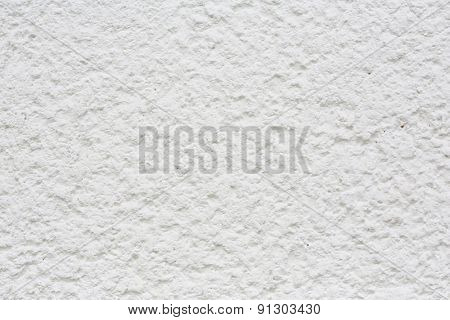 white textured wall.