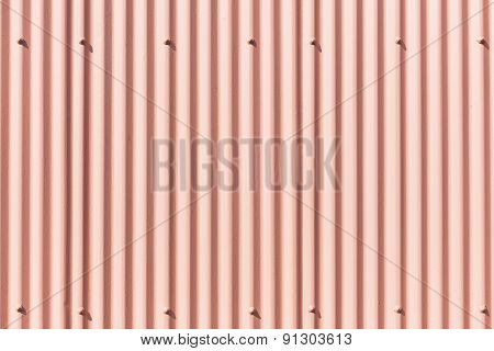 Pink Wall Contours Background