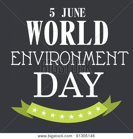 World Environment Day.