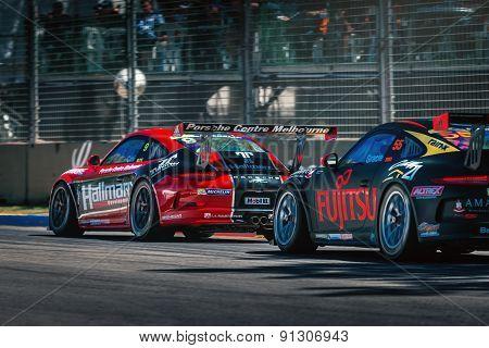 Porsche Gt3 Racing Cars
