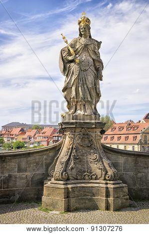 Statue Kunigunde Bamberg