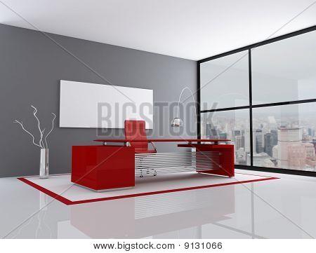 rot und grau Stadt office