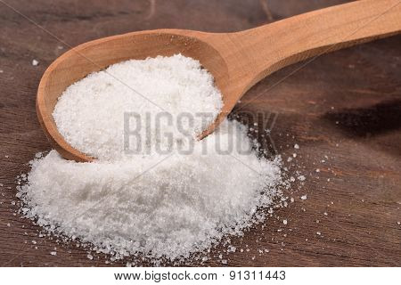 Salt In A Spoon