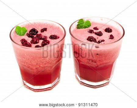 Cocktails Collection - Blackberry And Grape Smoothie