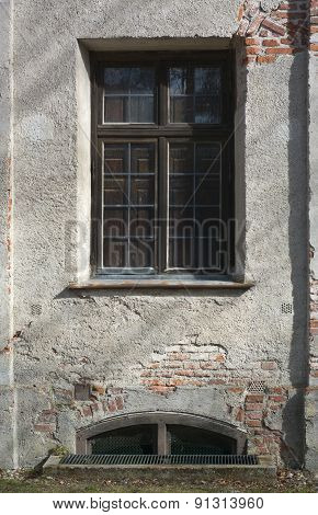 Old House And Window