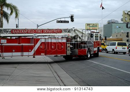 Fire Truck on Call