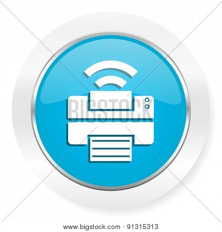 printer icon wireless print sign