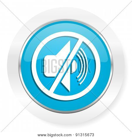 mute icon silence sign