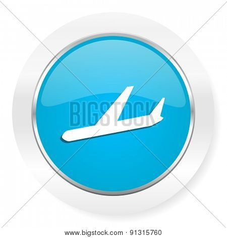 arrivals icon plane sign