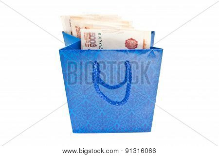 Notes In Blue Gift Package
