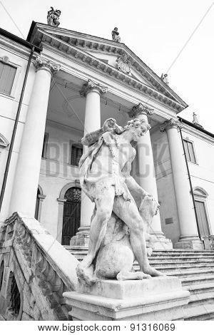 Vicenza, Veneto, Italy - Villa Cordellina Lombardi, Built In 18Th Century