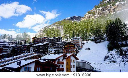 Scenic Of Zermatt