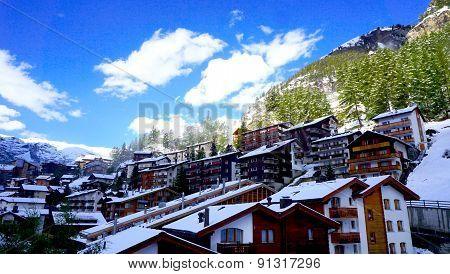 Scenery Of Zermatt