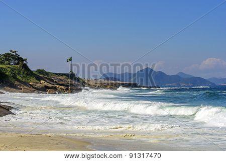 Devil's beach in Ipanema, Rio de Janeiro
