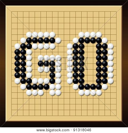 Go Game Board Word Gobang Gomoku