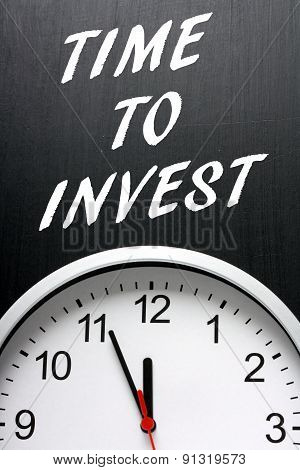 Time To Invest