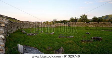 Ulpia Traiana Sarmisegetusa Amphitheatre