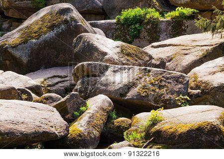 Huge Rocky Boulders