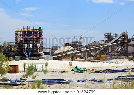 Plant For The Production Of Mineral Fertilizers, Dead Sea, Israel