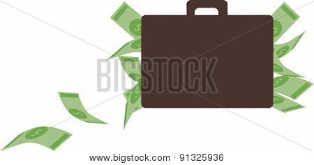 Vector Illustration. Money Concept.