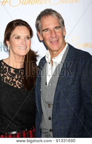 LOS ANGELES - MAY 18:  Chelsea Field, Scott Bakula at the CBS Summer Soiree 2015 at the London Hotel on May 18, 2015 in West Hollywood, CA