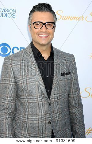LOS ANGELES - MAY 18:  Jaime Camil at the CBS Summer Soiree 2015 at the London Hotel on May 18, 2015 in West Hollywood, CA