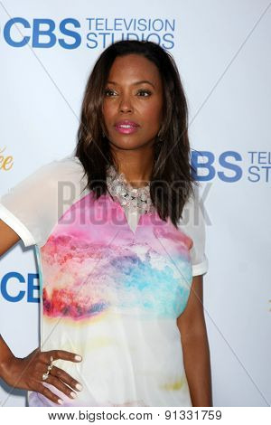 LOS ANGELES - MAY 18:  Aisha Tyler at the CBS Summer Soiree 2015 at the London Hotel on May 18, 2015 in West Hollywood, CA