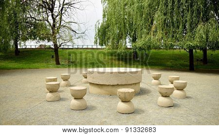 Silent Table Artwork Constantin Brancusi