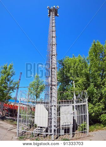 The Tower And Equipment For Cellular Communication
