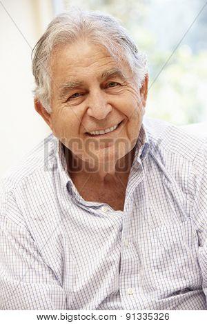 Senior Hispanic man portrait,