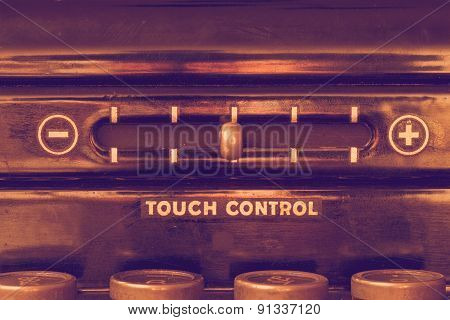 Vintage Touch Control
