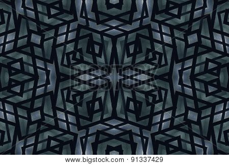 Geometric Futuristic Dark Pattern