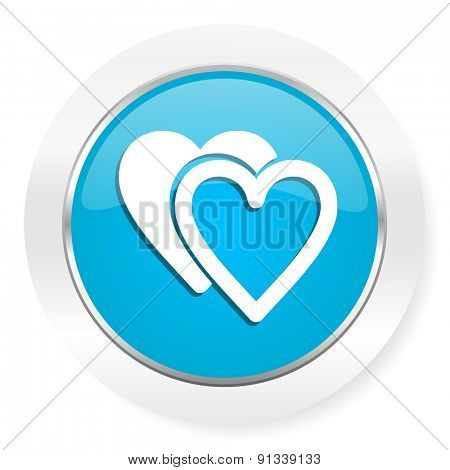 love icon sign hearts symbol