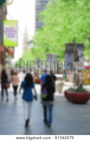 Summer In The City Blur