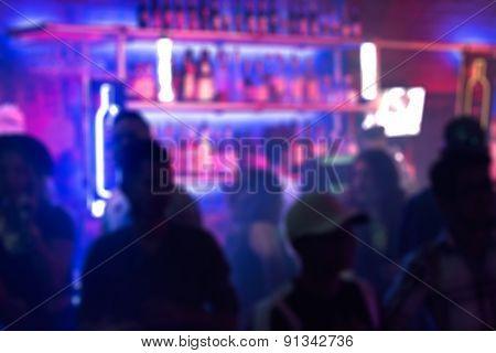 Nightclub Blur